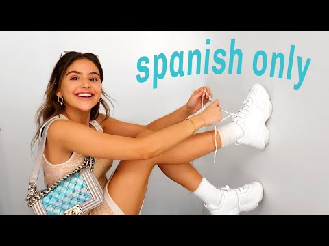 SPEAKING ONLY SPANISH FOR 24 HOURS | hablando solo español por 24 horas