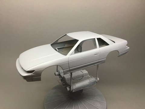 How to: Paint a Scale Model with Spray cans Part 1: Prep and Prime