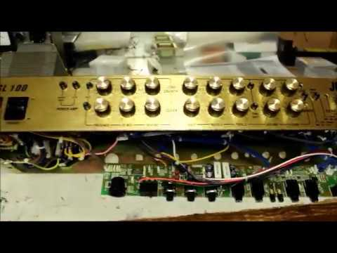 100 Amp Disconnect >> Marshall JCM 2000 - TSL 100 Thermal Bias Problem - YouTube