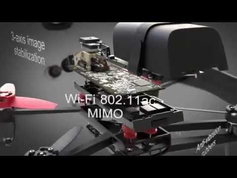 Управление Квадрокоптерем с помощью Oculus Rift .Parrot Bebop Drone