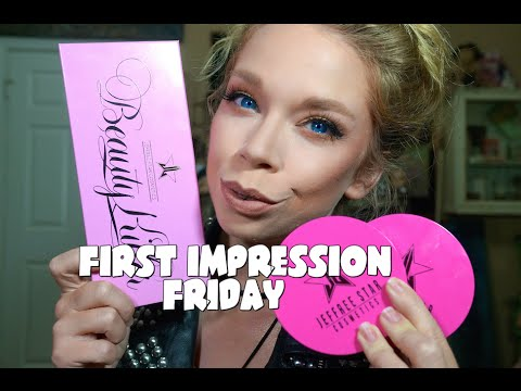 JEFFREE STAR PALETTE & SKIN FROSTS!- FIRST IMPRESSION FRIDAY!