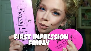 JEFFREE STAR PALETTE & SKIN FROSTS!- FIRST IMPRESSION FRIDAY!