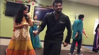 jimikki kammal || swing Zara swing Zara|| PedhaPulli || Ammadu Let's do Kummudu|| flashmob by NRI's