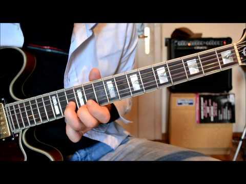 Ligabue - Certe Notti - Solo di chitarra - Assolo - Guitar Lesson - Tutorial - Lezioni di chitarra