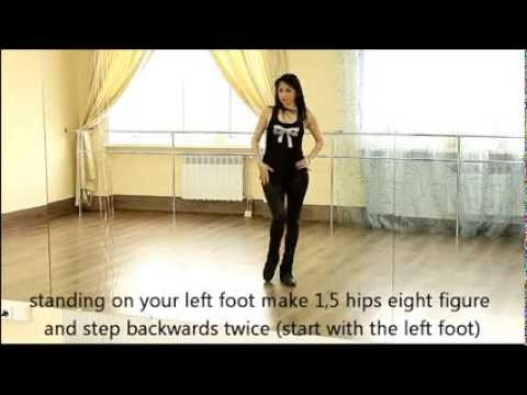 Strip Dance Lessons for free. Learn in 3 minutes! Part 1. - YouTube
