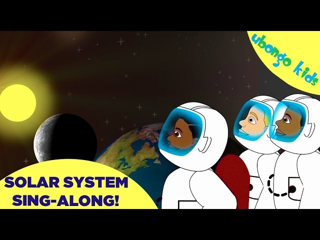 Solar System Song | Ubongo Kids Sing-Along | African Educational Cartoons