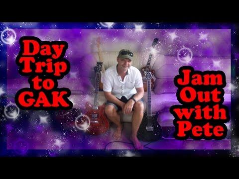 GAK Brighton & Jam with my buddy Pete