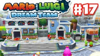Mario & Luigi: Dream Team - Gameplay Walkthrough Part 17 - Wakeport (Nintendo 3DS)