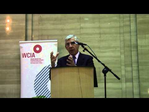 The Right Honorable Jack straw MP Lecture at WCIA (Temple of Peace)