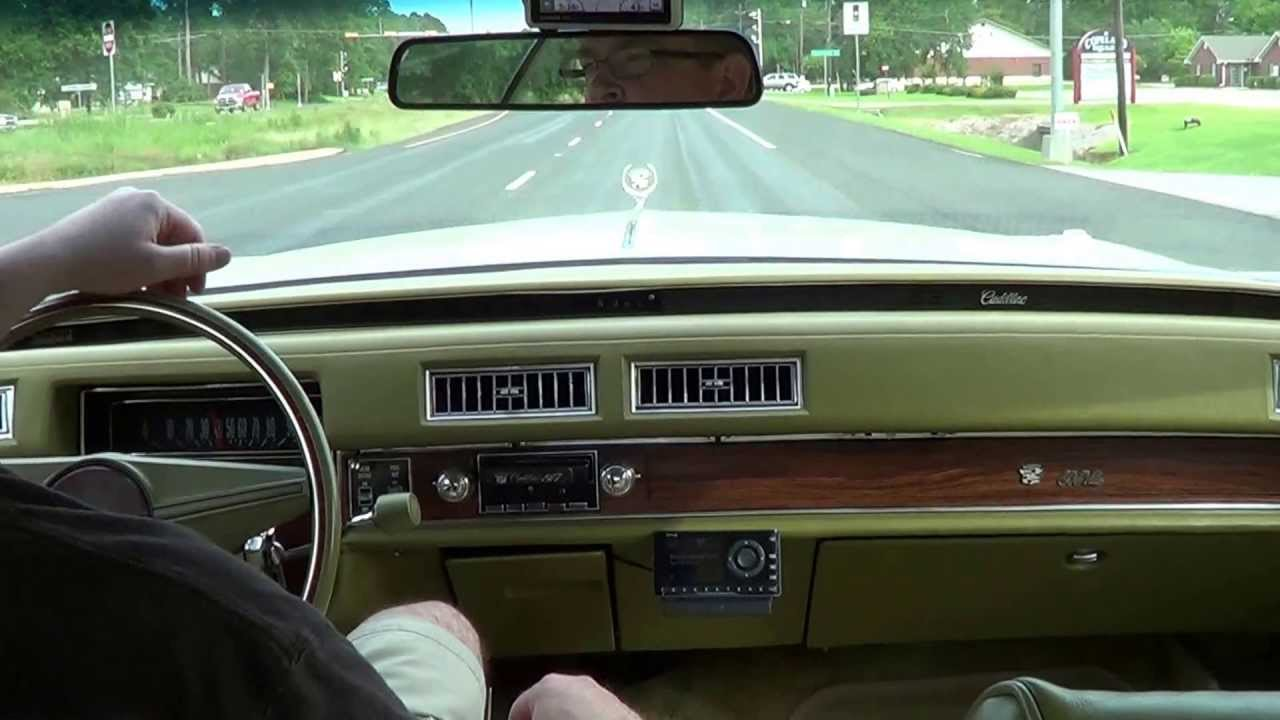 Ride in 1976 Cadillac Sedan deVille - YouTube