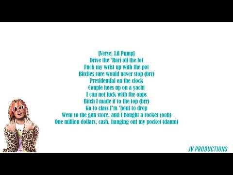 Lil Pump - Designer Lyrics