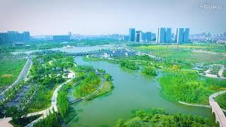 Aerial Pinghu (→_→)嘉兴市的一个下辖市——平湖(浙江省China Zhejiang Province)