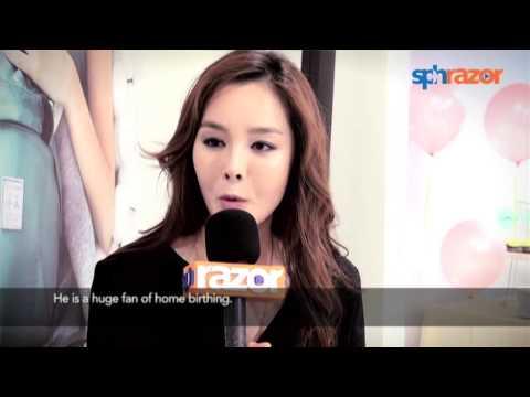 Korean actress endured 10 hours of labour – twice!