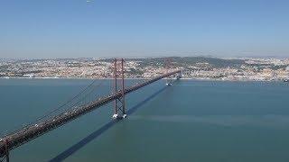 Lisbon, Portugal. A Walk from Bairro Alto down to Rua Augusta and Praca do Comercio
