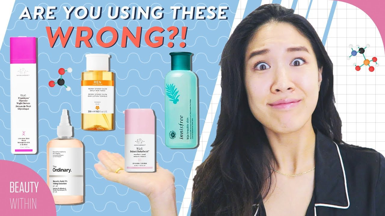 Exfoliating Acids In Skincare Routine Beginner S Guide To