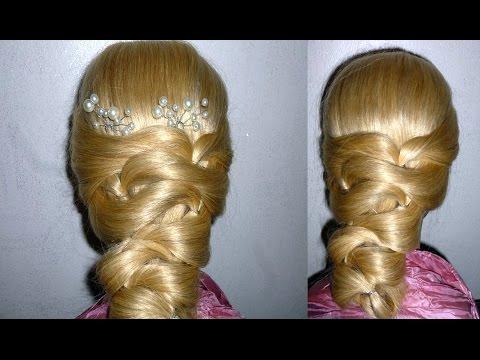 Einfache Frisur zum selber machen ohne FLECHTEN. Quick Hairstyle.Peinados