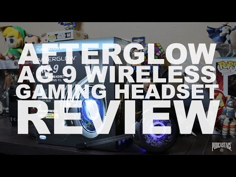 Afterglow AG 9 Wireless Gaming Headset Review / Test