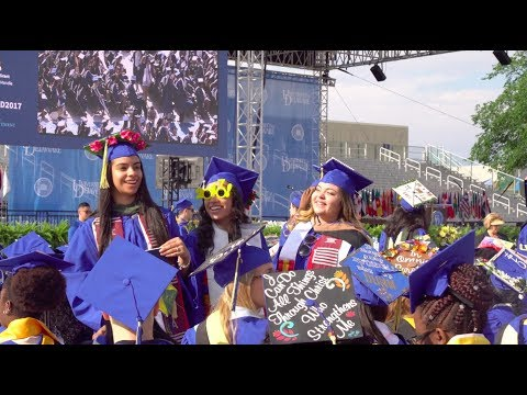 Click to play video UD Commencement 2017