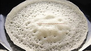 PALAPPAM- പാലപ്പം- (Vellayappam) Kerala Appam- NO YEAST Recipe- chinnuz' I Love My Kerala Food