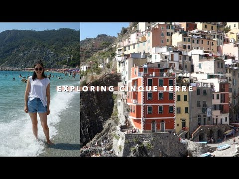 Day Trip to Cinque Terre 😍 | Vlogust Day 26