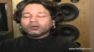 Kailash Kher sings for Sachin Tendulkar