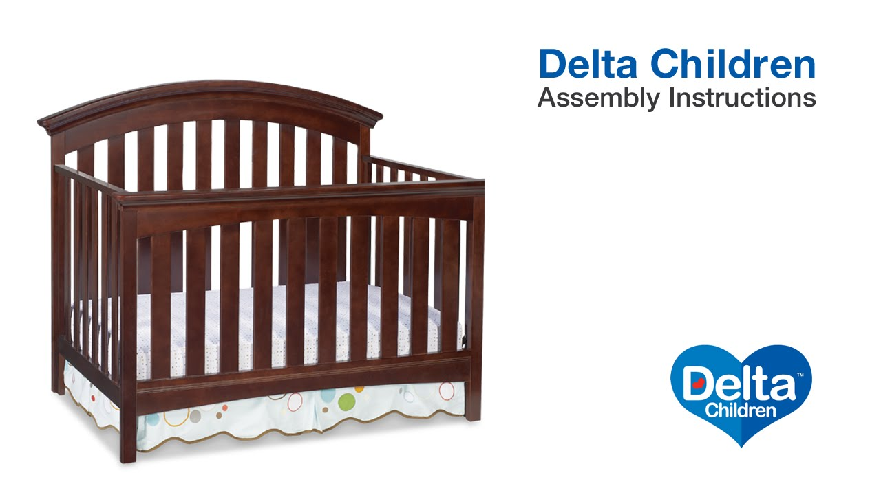 Delta Children Bentley Peyton 4 In 1 Crib Assembly Video Youtube