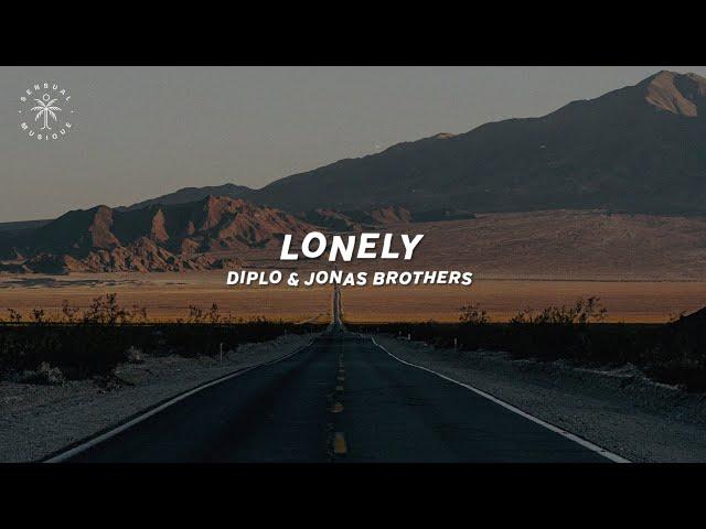 Diplo & Jonas Brothers - Lonely (Lyrics)