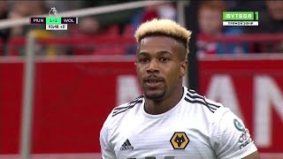 Adama Traoré vs Manchester United (Home) 22/09/2018 HD