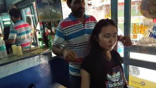 Chinese Girl Getting a Giggly Massage in Pushkar India| HD1080p