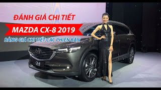 Đánh giá chi tiết Mazda CX-8 2019 phiên bản 2 cầu cao cấp tại Mazda Lê Văn Lương