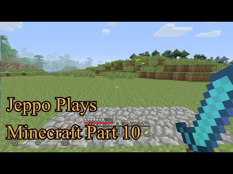 Minecraft PS4 Gameplay Part 10: Automatic Chicken Farm with Automatic Delivery