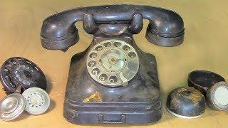 Restoration Antique Phone in 1956 📞☎