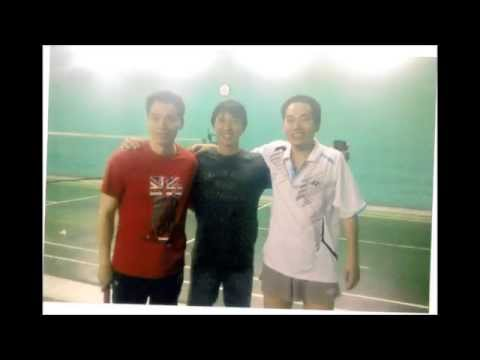 hartawan with world championship players.