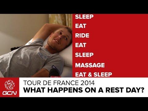 What Happens On A Rest Day? | Tour De France 2014