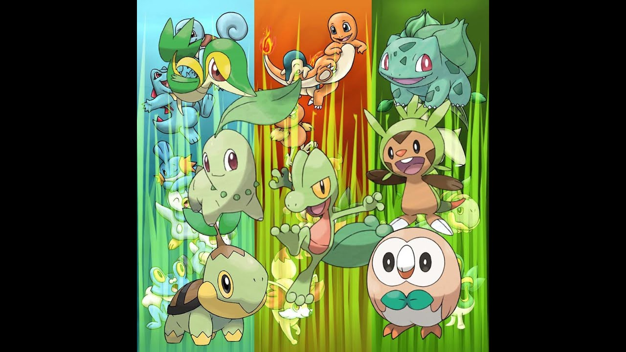 Grass Type Starter Pokemon | www.imgkid.com - The Image ...