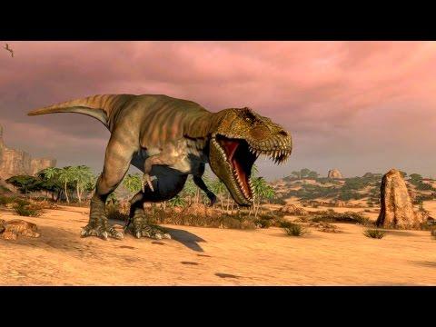 Dinosaur Hunter - BIG T-REX Small Rifle - Carnivores Dinosaur Hunter Reborn |