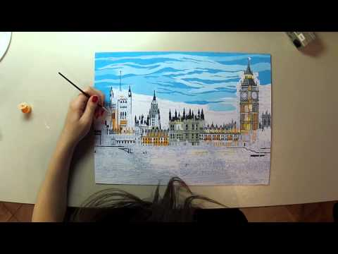 Paint by Numbers - Time lapse