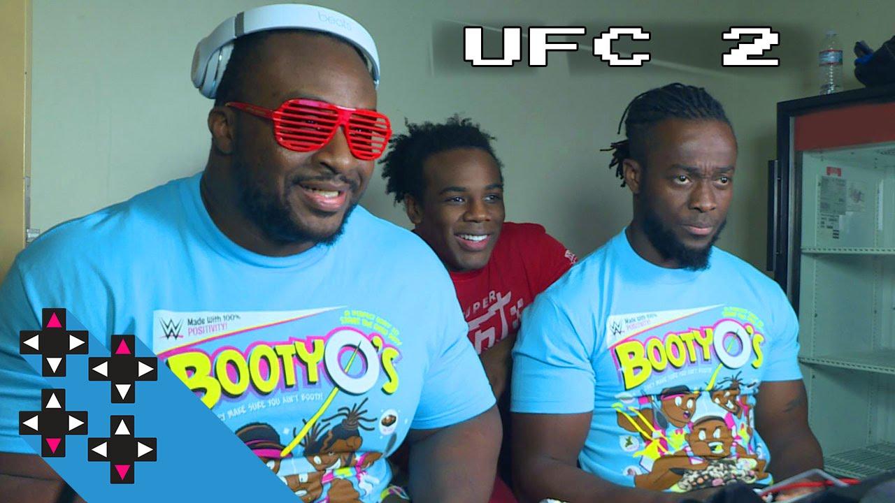 Big E vs. Kofi Kingston in EA Sports UFC 2 — Gamer Gauntlet
