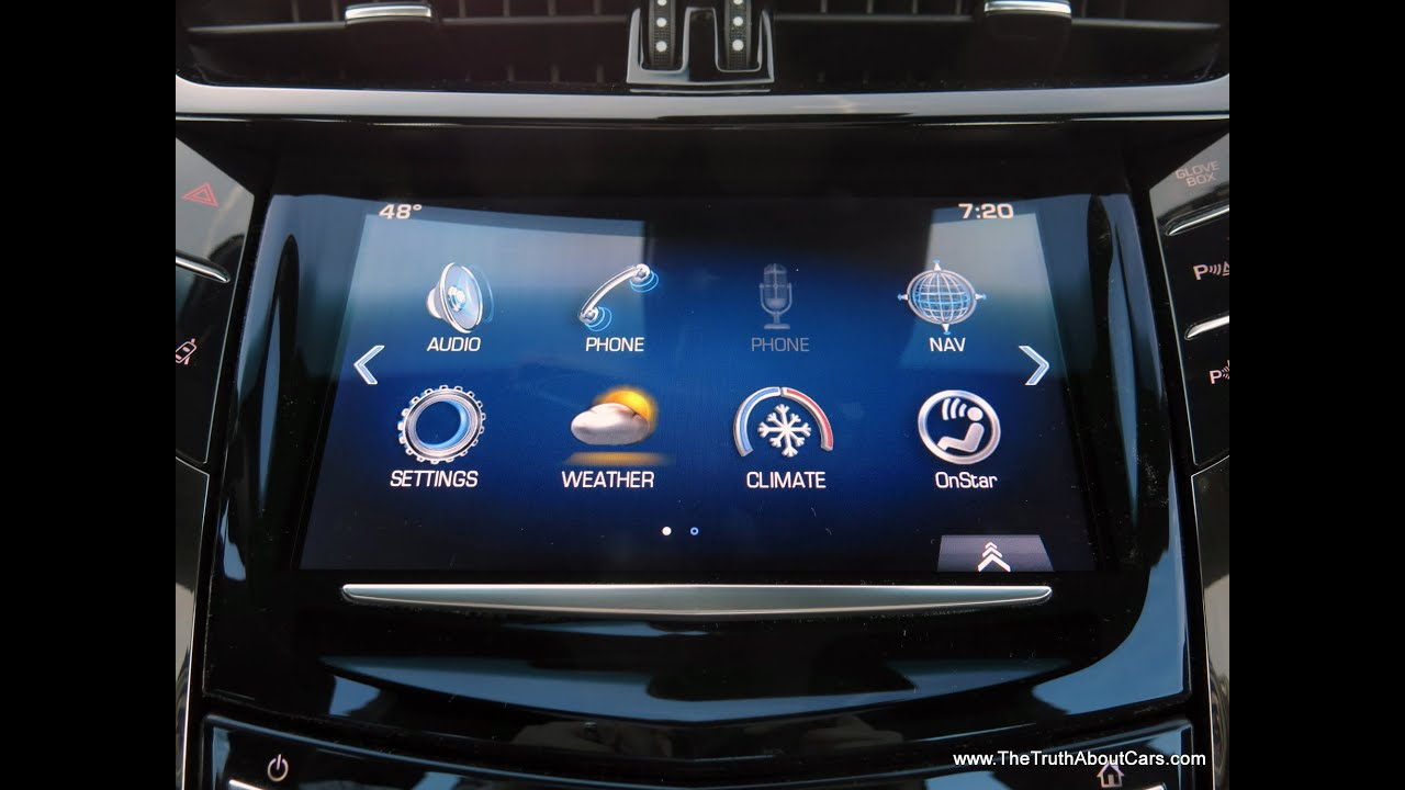 2014 Cadillac Cts Infotainment Review Cadillac Cue Youtube