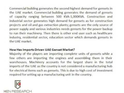 Perkins Generator Sets UAE | Diesel Engines Suppliers UAE | Ken Research
