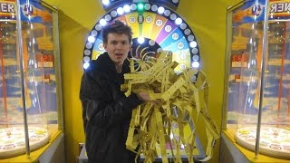 I WON ALL OF THE ARCADE TICKETS! thumbnail