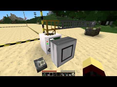 BuildCraft Part1-Quarry Tutorial - Лучшие приколы  Самое