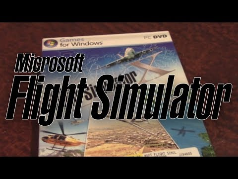 Microsoft Flight Simulator X - Unboxing & Installation