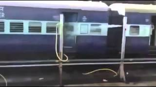 Funny water pipe leakage at train thumbnail