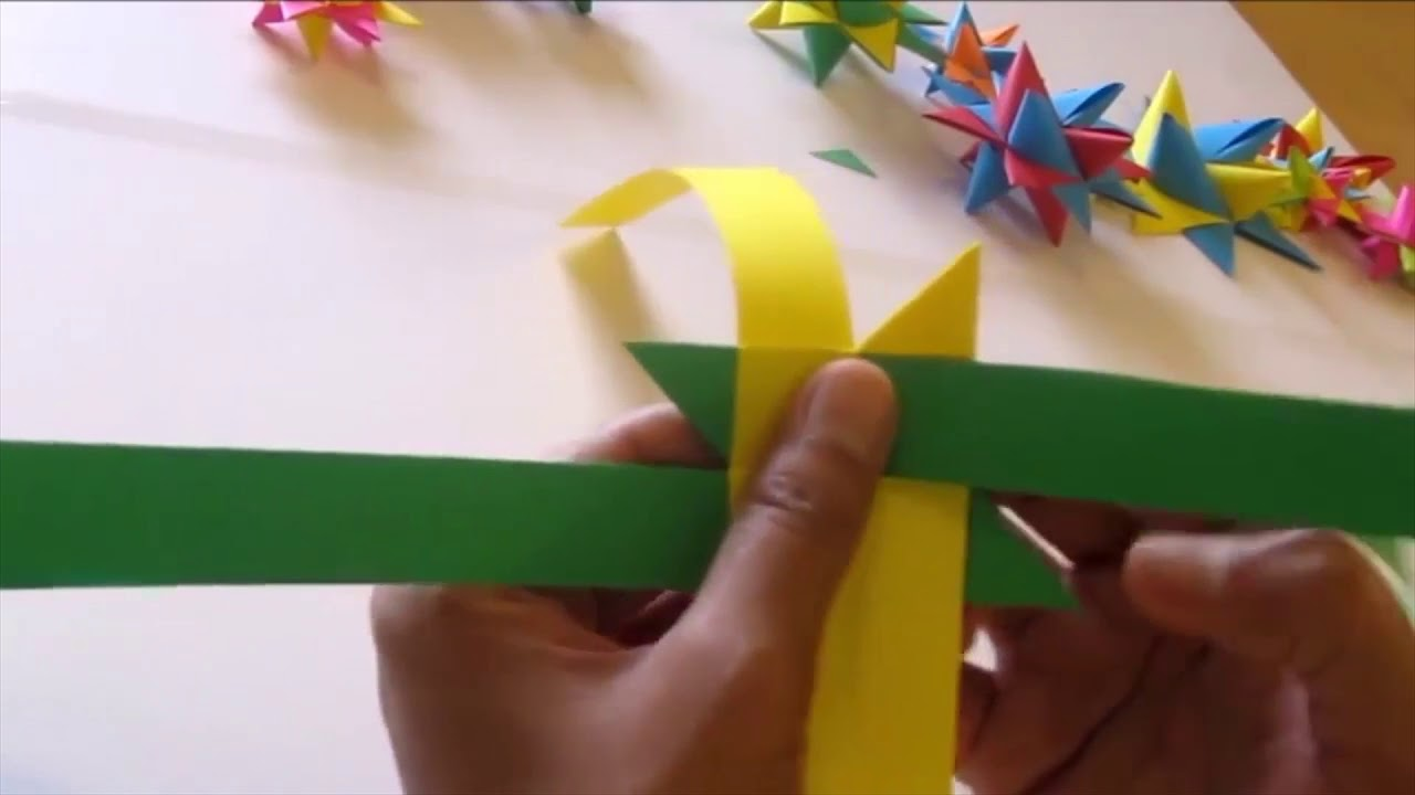 How To Make Simple Easy Paper Star Paper Craft Ideas Videos