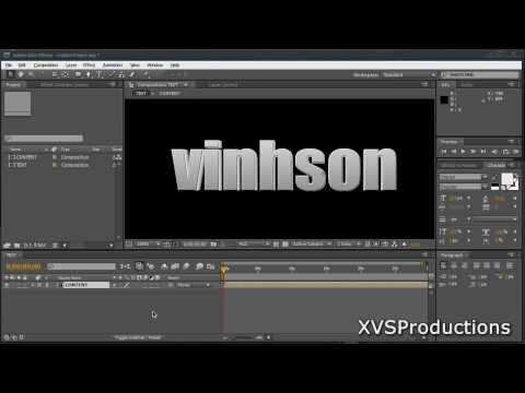 AE: Create REAL 3D Text In After Effects [Not Shatter Effect Method]