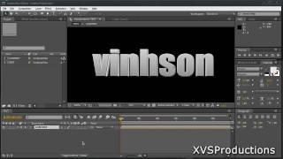 AE: Erstellen Sie ECHTE 3D-Text In After Effects [Kein Effekt