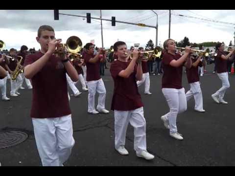 Laurin Middle School Hazel Dell Parade 2013