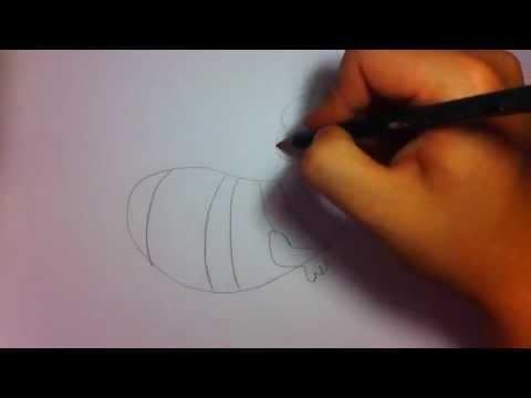 Biene Maja Zeichnen Biene Maja Malen Anleitung Youtube
