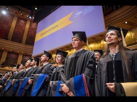 CEU Graduation Ceremony 2017